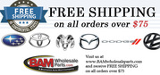 Genuine Car Parts for your Dodge,  Mazda,  Subaru,  Toyota,  and Volkswage